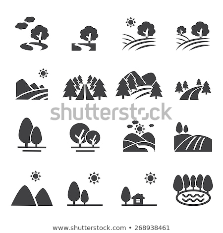 iconen · vakantie · reis · zomer · symbolen · zee - stockfoto © netkov1