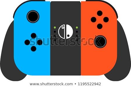 Renkli Japon oyun makine örnek iletişim Stok fotoğraf © Blue_daemon