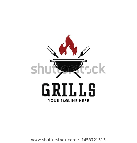 Barbecue and grill icon pattern Stock photo © netkov1