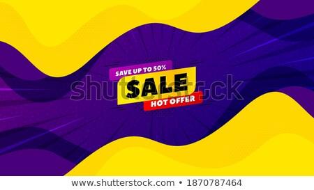 宣伝広告 価格 50 パーセント オフ 抽象的な ストックフォト © robuart
