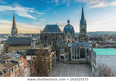 Kathedraal Duitsland Romeinse katholiek kerk hemel Stockfoto © borisb17