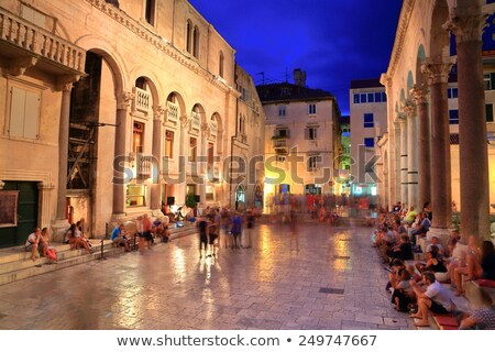 Venetian Tower, Split, Croatia Stock photo © borisb17