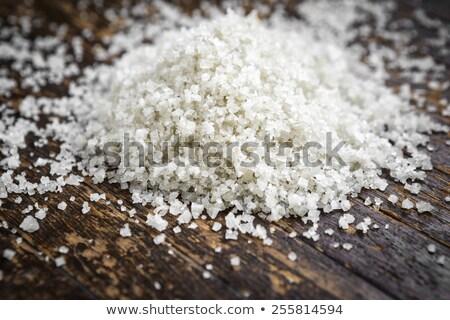 Granulate sea salt  Stock photo © grafvision