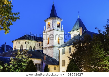 Katedral Fransa Roma kilise Bina Stok fotoğraf © borisb17