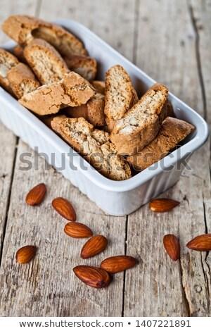 Cookie biały ceramiczne puchar nasion Zdjęcia stock © marylooo