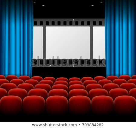 showtime cinema background with film strip reel Stock photo © SArts