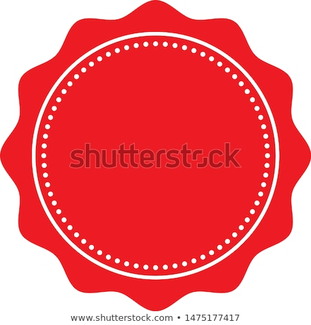 set of colorful stamps with numbers stock photo © orson