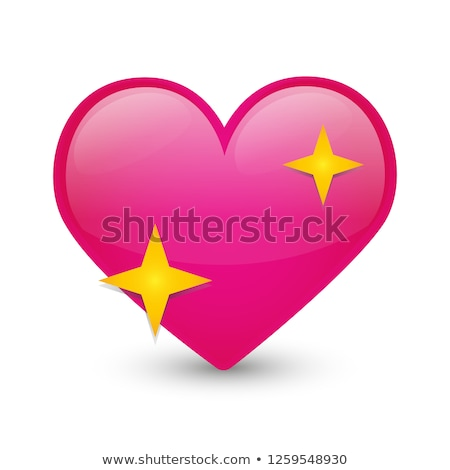 parlak · kalpler · çerçeve · kalp · soyut - stok fotoğraf © pathakdesigner
