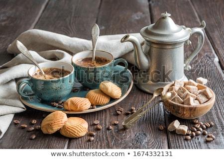 Still Life Of Coffee Beans Stok fotoğraf © Epitavi