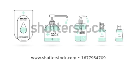 Hand sanitizer dispenser Stock photo © sidewaysdesign