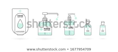 Hand sanitizer dispenser stock photo © sidewaysdesign