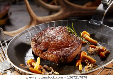 venison steak Stock photo © joker