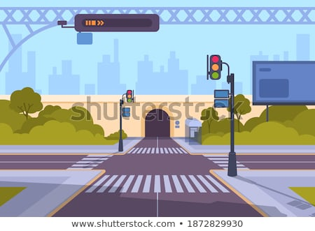 Safe driving in tunnel Stock photo © ifeelstock