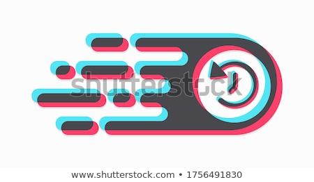 красочный · тревогу · часы · 3D · лице - Сток-фото © cherezoff