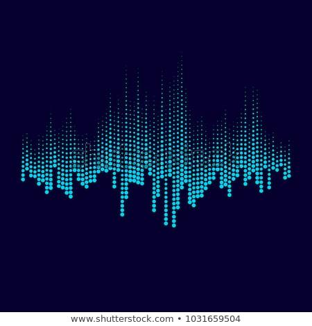 Grafika hangszínszabályozó magas döntés 3D kép Stock fotó © silense