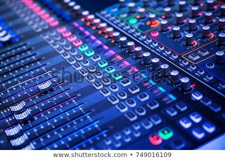 audio mixer stock photo © wellphoto