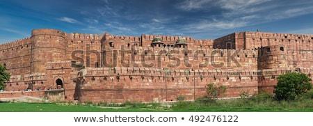 Moskee fort paleis Indië Stockfoto © faabi