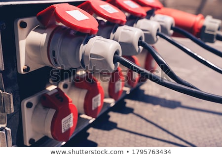 Industrial plug Stock photo © smuay