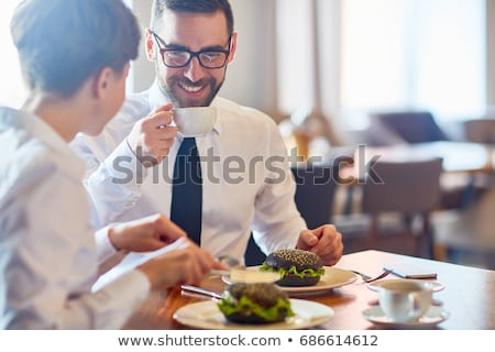 Business Lunch Stock photo © Pressmaster