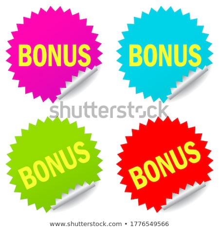 get bonus green vector icon button stock photo © rizwanali3d