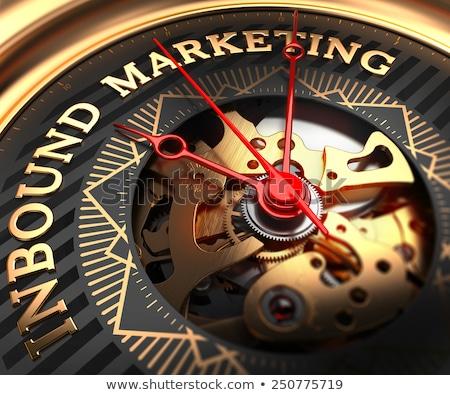 marketing · een · target · veel · pijlen · centrum - stockfoto © tashatuvango