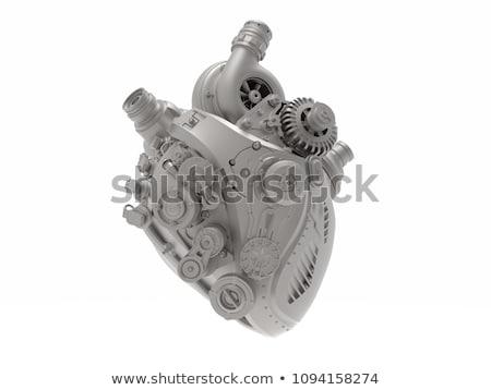 Mekanik kalp soyut örnek sevmek Stok fotoğraf © Yuran
