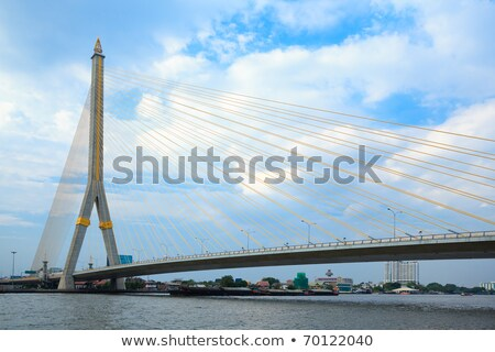Bangkok Ring Road bridge Stock photo © joyr