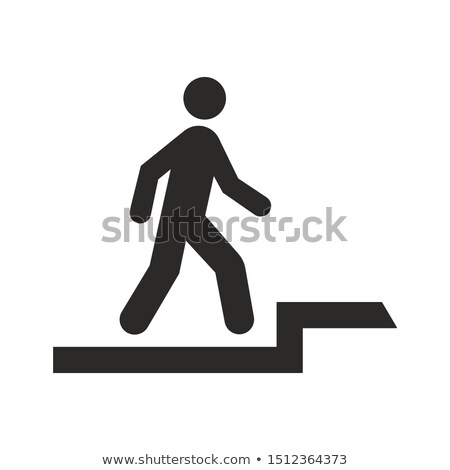 You can use this way to stairs. Stock photo © stockyimages