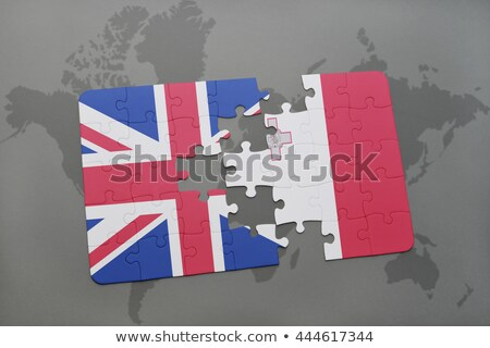 European Union and Malta Flags in puzzle Stock photo © Istanbul2009