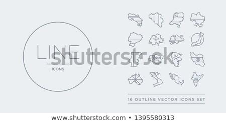 Svájc Szaúd-Arábia zászlók puzzle izolált fehér Stock fotó © Istanbul2009