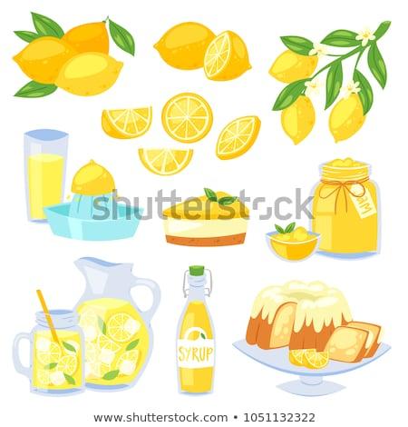 Lemon juice with Fruit Juicer Stock photo © bdspn