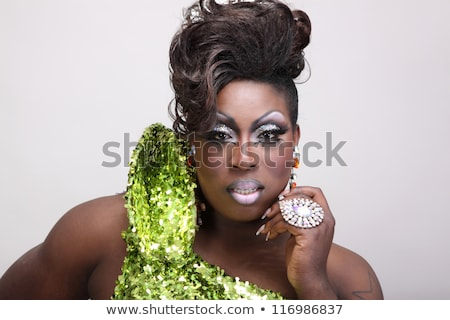 Portrait of Drag Queen Stock photo © Discovod
