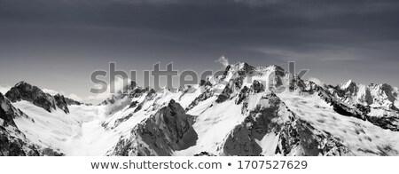 мягкой · снега · мнение · гор · небе · спортивных - Сток-фото © bsani