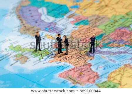 anlaşma · harita · dünya · çapında · uluslararası · anlaşma - stok fotoğraf © kirill_m