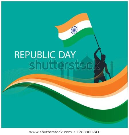 Golf achtergrond vlag wiel land winnen Stockfoto © rioillustrator