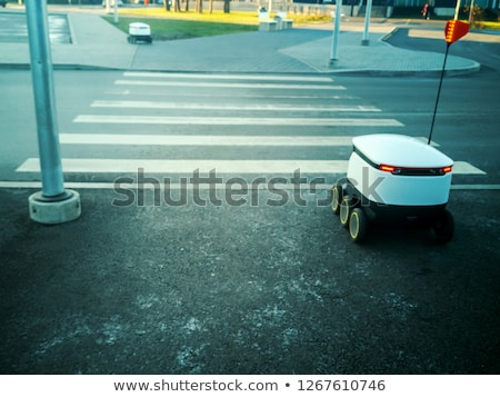 Robot and vehicle toys Stock photo © bluering