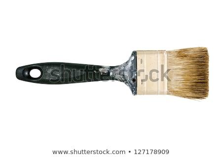 dirty used paintbrushes stock photo © julenochek