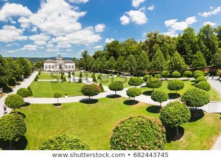 noto · abbazia · giardino · abbassare · mondo · danubio - foto d'archivio © tommyandone