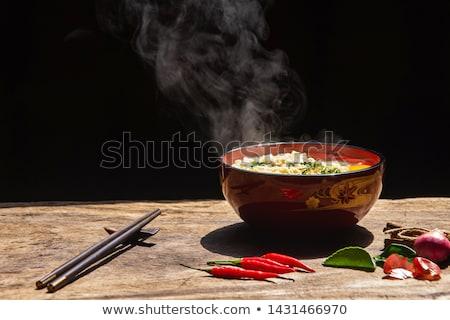 Çin · çorba · gıda · restoran · Asya · Asya - stok fotoğraf © m-studio