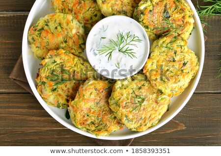 vegetables with cutlets stock photo © tycoon