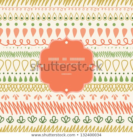 colorful funky brochure book cover with dots Stock photo © SArts