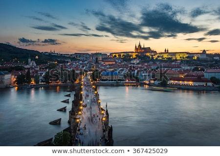 мнение · реке · моста · Прага · чешский · Чешская · республика - Сток-фото © givaga