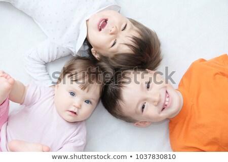 três · crianças · diferente · idade · diversão · ao · ar · livre - foto stock © galitskaya