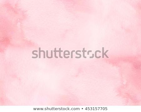 Textur rosa Wasserfarbe abstrakten malen Farbe Stock foto © SArts