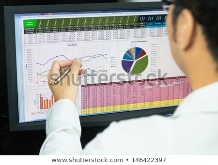 Analyzing online data stock photo © pressmaster