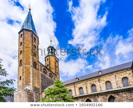 market church st cosmas and damian goslar germany stock photo © borisb17