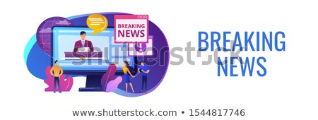 hot online information concept banner header stock photo © rastudio