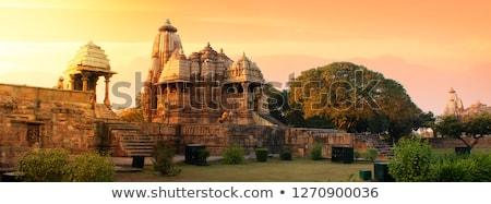 ünlü Hint turist işaret tapınak Hindistan Stok fotoğraf © dmitry_rukhlenko