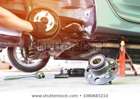 Gépi apró kerék autó szolgáltatás bolt Stock fotó © grafvision