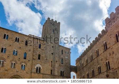 Toskana · İtalya · Bina · mavi · kentsel · Avrupa - stok fotoğraf © wjarek